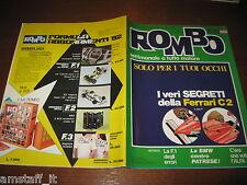 RIVISTA ROMBO 1981/35=FERRARI C2=RITMO ABARTH 125 TC=PUBBLICITA' ABBONAMENTI=