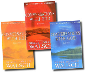 Conversations with God by Neale Donald Walsch 3 Book Set Series 1 to 3 - NEW