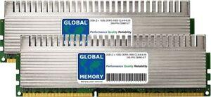 2GB (2x1GB) DDR3 1600MHz PC3-12800 240-PIN DIMM OVERCLOCK GAMING PC RAM KIT