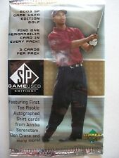 2003 UPPER DECK SP GAME USED EDITION GOLF , FACTORY SEALED PACK   !!