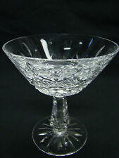 Waterford Kenmare Champagne / Tall Sherbet Glasses 4 3/4in Clear Cut Crystal