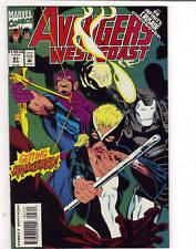 Avengers West Coast #97 comic 1993               d