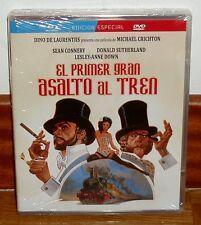 EL PRIMER GRAN ASALTO AL TREN-ED.ESPECIAL-BLU-RAY+DVD-NUEVO-NEW-***(SIN ABRIR)**