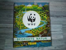 WWF / BEDROHTE TIERWELT / NICHT KOMPLETTES SAMMELALBUM