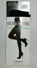 8f940f949 Berkshire Shimmer Opaque Control Top Women s Tights Size Petite Color Black