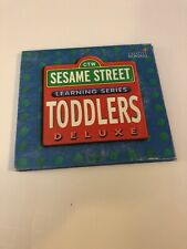 Sesame Street Learning Series Toddlers Deluxe 3 Discs! PC 1997