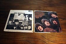THE BEATLES LP RUBBER SOUL ~Capitol T 2442 MONO 1965 1st Press Vinyl Record