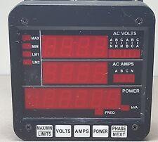 3 Phase Multifunction Power Monitor DMMS300-FKVA-3E-M11.5