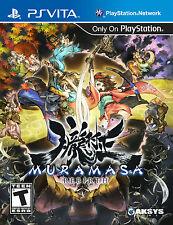 Muramasa Rebirth [Sony PlayStation Vita PSV, HD Samurai Ninja Sequel Action RPG]