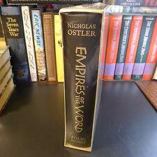 Folio Society EMPIRES OF THE WORD, Nicholas Ostler, NEW/SEALED, S/C, Language