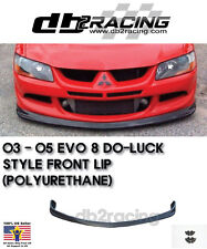 2003-2005 Mitsubishi Lancer EVO 8 DO-LUCK JDM Style Front Lip (Urethane)