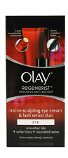 Olay Regenerist Micro-sculpting Eye Cream and Lash Serum Duo 1 Kit 15ml