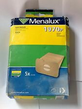 Menalux 1970p 5 x Vacuum Cleaner Bags for Electrolux
