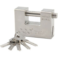 More details for 104mm stubborn warehouse heavy duty shipping container padlock chain lock new