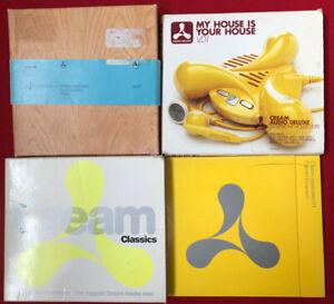 4 x 'CREAM' HOUSE MUSIC ALBUMS ON CD bundle