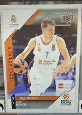 2017-18 Upper Deck Luka Doncic # 1 Euroleague Exclusives 86/100 Must Have ePack!