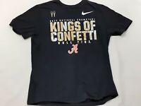 Nike 2017 Alabama Crimson Tide College Football National Championship Shirt XL