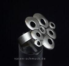 Versilberte runde Unisex Modeschmuck-Ringe