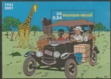 """Belgique België, Bloc de timbre """" TINTIN """" neuf MNH, bien"""