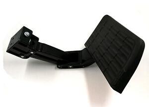 For 09-18 DODGE RAM 1500 10-18 2500 3500 TRUCK BED SIDE STEP Retractable Black