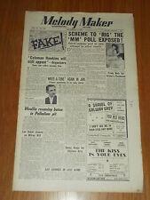 MELODY MAKER 1949 #852 DEC 3 JAZZ SWING COLEMAN HAWKINS FRANK WEIR LOU PREAGER