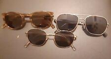 Warby Parker Sunglasses lot Robbie, Abe, Haskell frames Designer