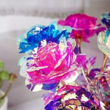 GALAXY ROSE FLOWERS  ENCHANTED ROMANTIC 4 COLORS LED & REGULAR