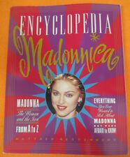 BOOK LIBRO MADONNA ENCYCLOPEDIA Autografato signed by RETTENMUND no cd lp dvd mc