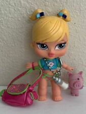 Girlz Girl Bratz 5 in Babyz Cloe Doll Blonde Hair Original Clothes Purse Pig
