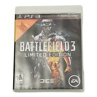 PS3 Battlefield 3: Limited Edition Video Game (2011) Sony PlayStation 3