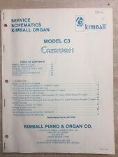 Kimball Organ Model C3 Repair manual