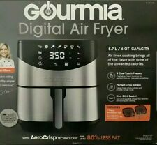 Gourmia Digital Air Fryer 6-Qt. Capacity, Model GAF685 NEW/NEVER USED.OPEN BOX.