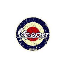 VESPA DECALS X 2  by Voodoo Street RACE RETRO OLD SCHOOL VINTAGE, self adhesive