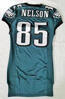 #85 Nelson of Philadelphia Eagles NFL Locker Room Game Issued Jersey