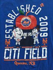 New York Mets Established 2009 Citi field Queens, N.Y.  t shirt sz L large SGA