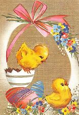 Happy Easter Eggs Chicken Joyeuses Paques