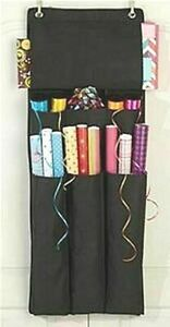 Joy Mangano Over The Door Gift Wrap Station In 9 Beautiful Solid Colors NEW NIP