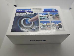 Easyguard PKE car alarm system push button remote engine auto start shock sensor