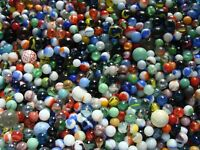 125 Marbles & Shooters Collect Play Modern Vintage Toys Games Gift & Free Ship