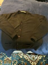 "Men's John Smedley 100% Pure Cashmere Cardigan, Size 46""/117cm, Brown, UK Made"
