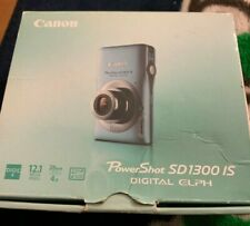 Canon PowerShot Digital ELPH SD1300 IS / 12.1MP Digital Camera - BLUE