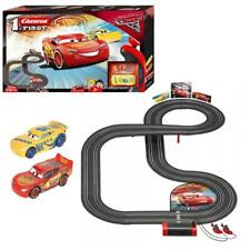 Carrera 63011 1. First Disney Pixar Cars 3 Auto Rennbahn 2 Autos für Kleinkinder