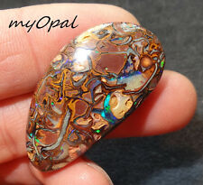 +++ TOP Zeichnung - wunderschöner Matrix Opal Cabochon ! VIDEO FUNKTIONIERT !!