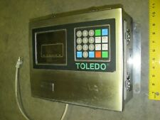 TOLEDO Digital Display Weight Scale Readout Monitor 120 Volt AC Stainless 8142
