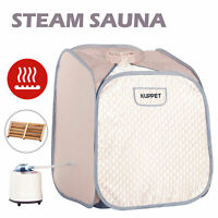 2L Portable Steam Sauna Spa Full Body Detox Therapy Slimming Weight Loss Indoor