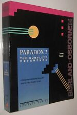 PARADOX 3 - THE COMPLETE REFERENCE - JAMES KEOGH - EN INGLES