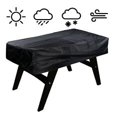 PU 300D Oxford Cloth Heavy Foosball Billiard Table Cover Outdoor Waterproof Dust