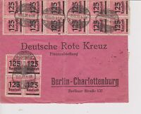 GERMANY 1923 INFLA INFLATION Cover of 19.10.1923 Rate 5 Milions Marks