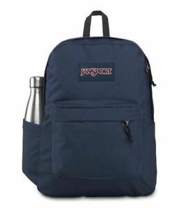 New JANSPORT Superbreak Backpack Navy For Unisex