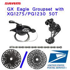 SRAM GX Eagle Groupset 12 speed 50T Cassette Rear Derailleur Shifter Chain